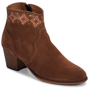 Schuhe Damen Low Boots Betty London LAURE-ELISE Camel