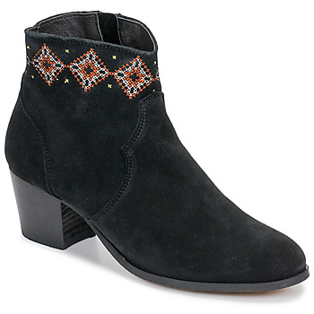 Schuhe Damen Low Boots Betty London LAURE-ELISE Schwarz
