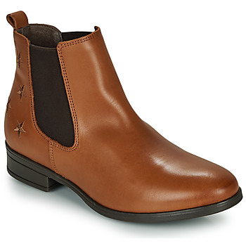 Schuhe Damen Boots Betty London LISELOTTE Cognac