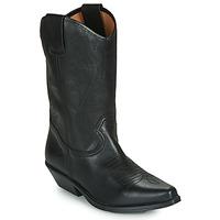 Schuhe Damen Klassische Stiefel Betty London LOVA Schwarz
