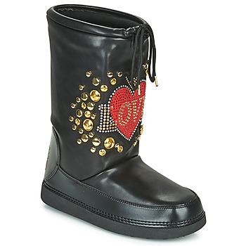 Schuhe Damen Schneestiefel Love Moschino SKI BOOT Schwarz