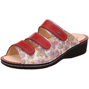 Schuhe Damen Pantoletten / Clogs Finn Comfort Pantoletten Pisa Pantolette 2501/901810 rot