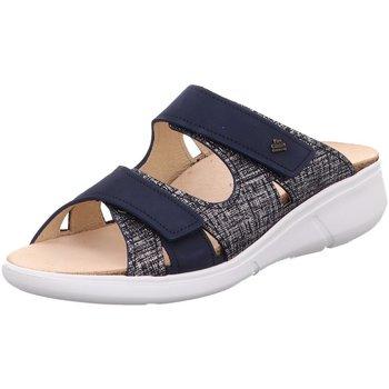 Schuhe Damen Pantoletten / Clogs Finn Comfort Pantoletten Palau Pantolette 3350/901586 blau
