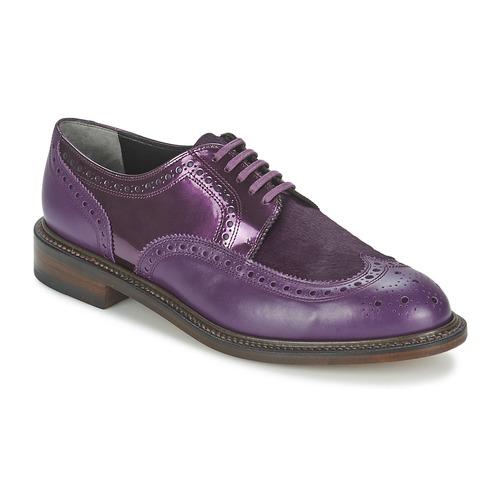 Robert Clergerie ROEL Violett Schuhe Derby-Schuhe Damen 259,50