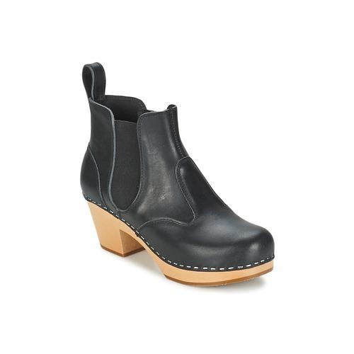Swedish hasbeens CHELSEA Schwarz    Schuhe Low Boots Damen 149,50 8abaac