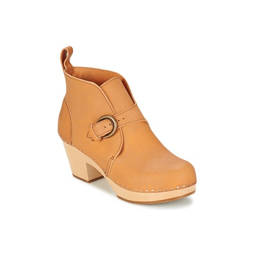 Swedish hasbeens PETRA Beige Schuhe Low Boots Damen 149,50