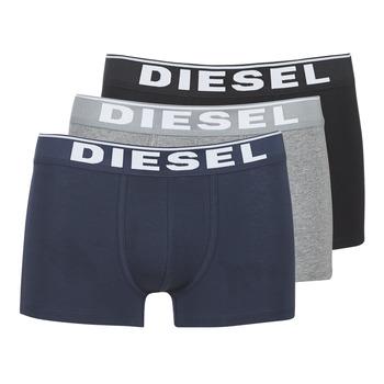 Unterwäsche Herren Boxer Diesel DAMIEN Grau / Marine / Schwarz
