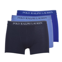 Unterwäsche Herren Boxer Polo Ralph Lauren CLASSIC-3 PACK-TRUNK Blau