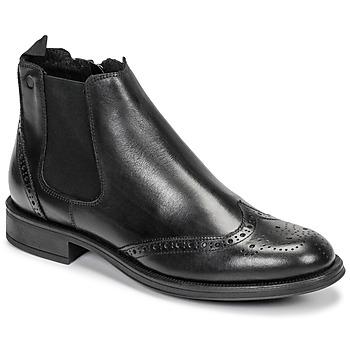 Schuhe Herren Boots Carlington LEVOTO Schwarz