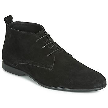 Schuhe Herren Boots Carlington EONARD Schwarz