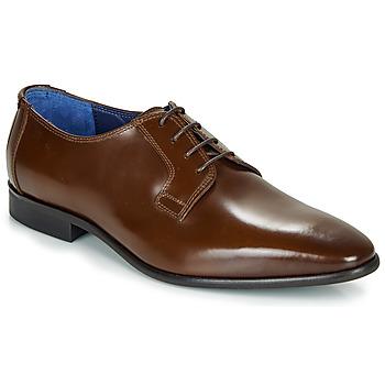 Schuhe Herren Richelieu Azzaro VICHE Braun