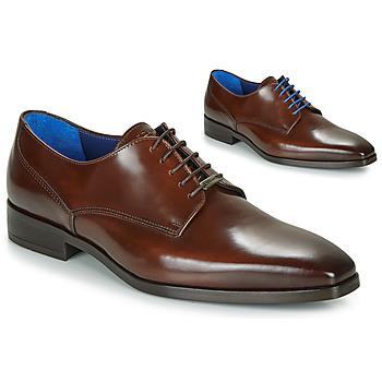 Schuhe Herren Derby-Schuhe Azzaro POIVRE Braun