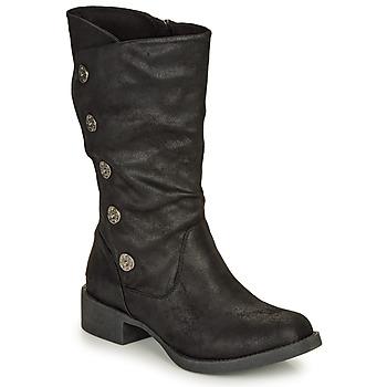 Schuhe Damen Klassische Stiefel Blowfish Malibu KEEDA Schwarz