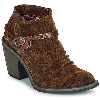Schuhe Damen Low Boots Blowfish Malibu LAMA Braun