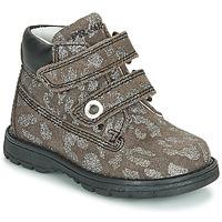 Schuhe Mädchen Boots Primigi ASPY 1 Grau / Silbern