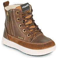 Schuhe Jungen Boots Primigi BARTH GORE-TEX Braun