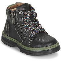 Schuhe Jungen Boots Primigi PLAY TRACK Schwarz