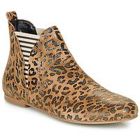 Schuhe Damen Boots Ippon Vintage PATCH ARTY Camel