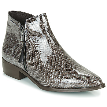 Schuhe Damen Boots Ippon Vintage STING HILL Grau
