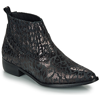 Schuhe Damen Boots Ippon Vintage GILL ARTY Schwarz