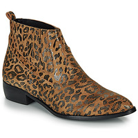 Schuhe Damen Boots Ippon Vintage GILL ARTY Camel