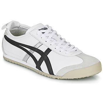 Schuhe Sneaker Low Onitsuka Tiger MEXICO 66 Weiss / Schwarz