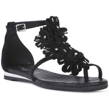 Schuhe Damen Sandalen / Sandaletten Sono Italiana CROSTA NERO Nero