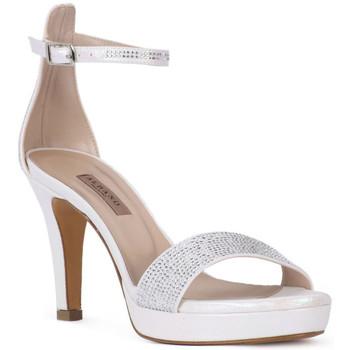 Schuhe Damen Sandalen / Sandaletten Albano LUX BIANCO Bianco