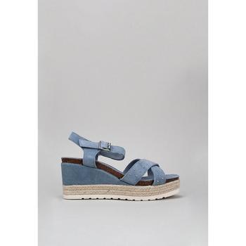 Schuhe Damen Sandalen / Sandaletten Carmela 66689 Blau