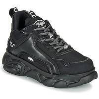 Schuhe Damen Sneaker Low Buffalo CHAI Schwarz / Weiss