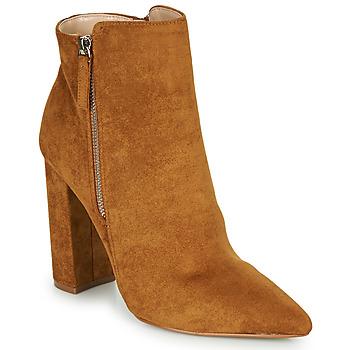 Schuhe Damen Low Boots Buffalo FERMIN Cognac