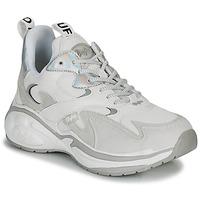 Schuhe Damen Sneaker Low Buffalo CAI Weiss / Silbern