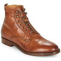 Schuhe Herren Boots Kost MILITANT 17 Cognac