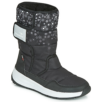 Schuhe Damen Schneestiefel Kangaroos K-FLUFF RTX Schwarz / Grau
