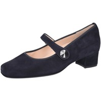 Schuhe Damen Slipper Hassia Slipper Evelyn 5-303375-3000 8-303375-3000 blau