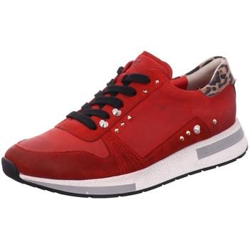 Schuhe Damen Sneaker Paul Green Schnürhalbschuh 4796-035 rot