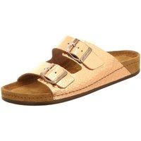 Schuhe Damen Pantoletten / Clogs Wolkenwerk Pantoletten 10103-701 Specch 10103-701 gold