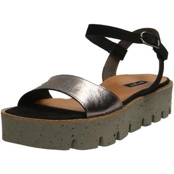 Schuhe Damen Sandalen / Sandaletten Paul Green Sandaletten 0064-7408-014 7408-014 schwarz