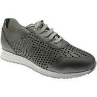 Schuhe Damen Sneaker Low Calzaturificio Loren LOC3845gr grigio