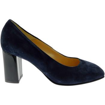 Schuhe Damen Pumps Soffice Sogno SOSO9350bl blu
