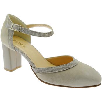 Schuhe Damen Pumps Soffice Sogno SOSO9351be blu