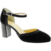 Schuhe Damen Pumps Soffice Sogno SOSO9351ne nero