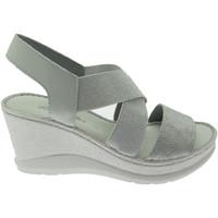 Schuhe Damen Sandalen / Sandaletten Riposella RIP40811gr grigio