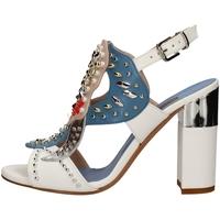 Schuhe Damen Sandalen / Sandaletten Albano 2153 WEISS