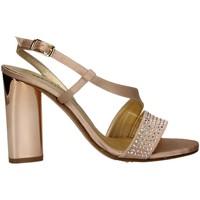 Schuhe Damen Sandalen / Sandaletten Melluso J571 KUPFER