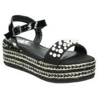 Schuhe Damen Sandalen / Sandaletten Isteria 8052 Noir