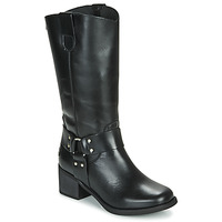 Schuhe Damen Klassische Stiefel Musse & Cloud AUSTIN Schwarz