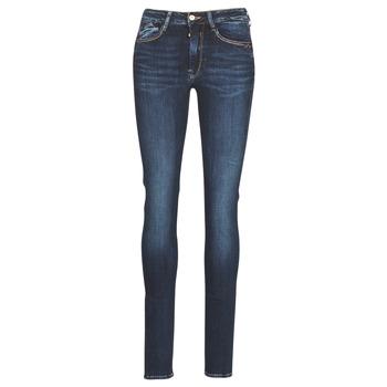 Kleidung Damen Slim Fit Jeans Le Temps des Cerises PULP HIGH SLIM Blau