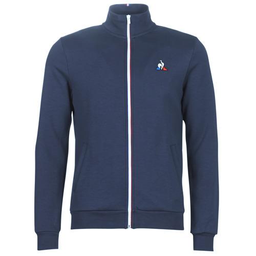 Kleidung Herren Trainingsjacken Le Coq Sportif ESS FZ SWEAT N°2 M Blau / Marine