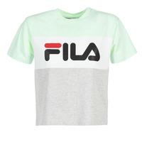 Kleidung Damen T-Shirts Fila ALLISON TEE Blau / Grau